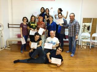 Spolin Workshop, 2014