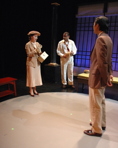 """Leslie"" in THE LETTER, Hudson Guild Theatre, Chelsea, NY"
