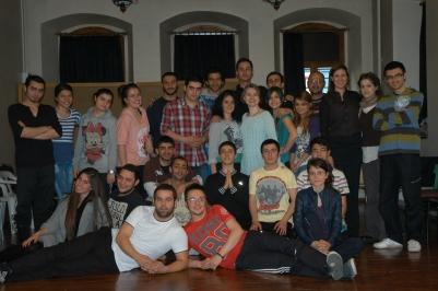 Whole group @Trabzon Festival