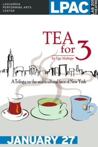 Postcard Tea for 3