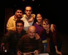 Tsotne Nakasidze, Bilkent Theater - rehearsal process for A Mid Summer Night's Dream - Class of 2006