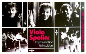 Chicago'da Viola Spolin Sergisi