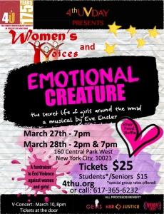 Bu yıl yönettiğim prodüksiyon 'Kadınların Sesleri'