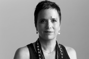 Eve Ensler - photo by B Lacombe
