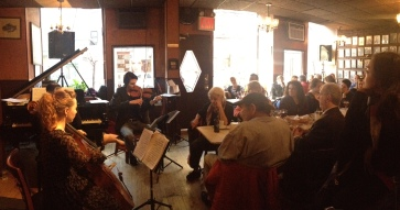 New Yorker Trio @Caffe Vivaldi